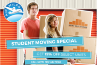 Metro Self Storage DAL Student Special
